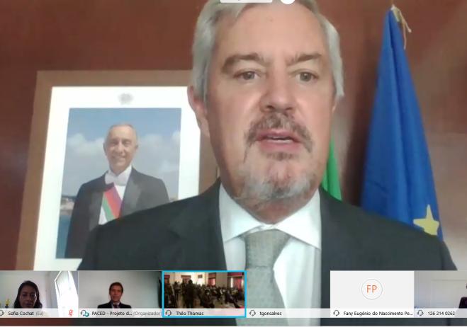 Embaixador de Portugal em Luanda, Pedro Pessoa e Costa